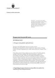 Žmogaus teisės Lietuvoje 2007 metais BENDROJI ... - Sweden Abroad
