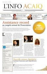 Journal L'Info ACAIQ 07-2007 - oaciq