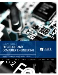 ELECTRICAL AND COMPUTER ENGINEERING - University of ...