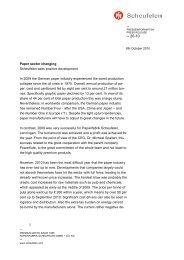 Paper sector changing Scheufelen sees positive development In ...