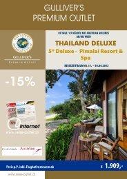 Angebot als pdf - Gulliver's Reise Outlet