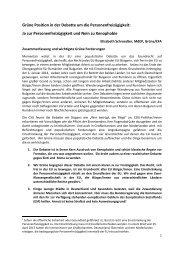 Briefing Freizügigkeit Schroedter 012013 - Schroedter, Elisabeth