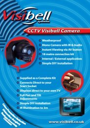 CCTV Visiball Camera - MAS (Moreton Alarm Supplies)