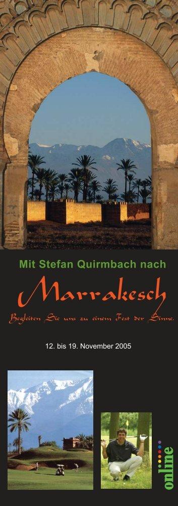 Marrakesch - Stefan Quirmbach Golfschule