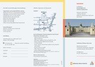 Kontakt, Veranstaltungsort & Anmeldung Anfahrt, Sponsoren ...