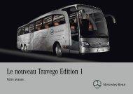 Le nouveau Travego Edition 1 - Mercedes-Benz Deutschland