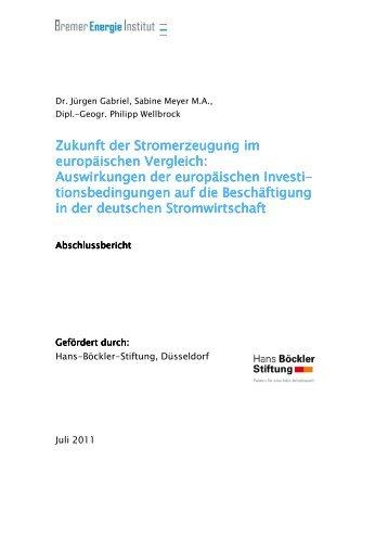 PDF (Bericht) - Bremer Energie Institut