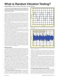 What is Random Vibration Testing? - Sound and Vibration Magazine