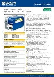 BP PR Plus Datenblatt - Labor-Kennzeichnung