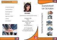 Flyer Schulsozialarbeit am Gymnasium (PDF)