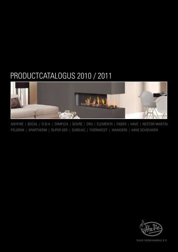 Have Productcatalogus 2010 / 2011 - Warmteservice