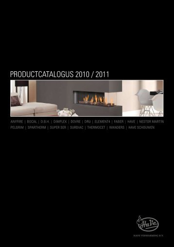 Have Productcatalogus 2010 / 2011 - Warmteservice
