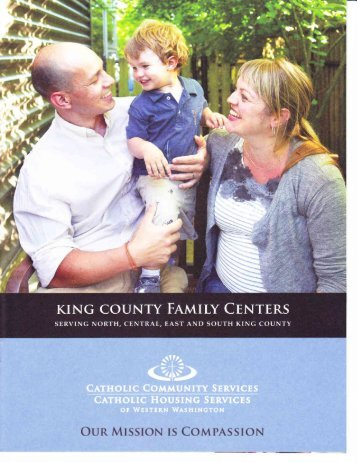 King County Family Centers - St Benedict School