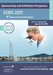 FEMS 2011 - Kenes Group