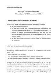 Kommunalwahlen 2004: - Wahlen in Thüringen
