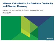 Recovery - VMware