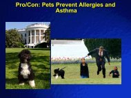 Pro/Con: Pets Prevent Allergies and Asthma