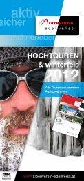 HocHtouren & winterfels - Österreichischer Alpenverein Wien