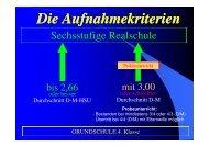 Aufnahmekriterien - St. Marien-Schulen Regensburg