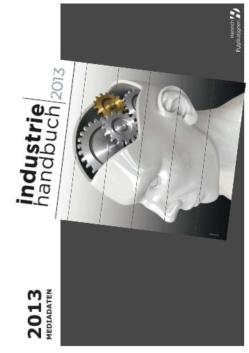 Industrie Handbuch 2013 - Maschine + Werkzeug