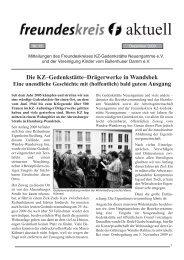 Aktuell Nr. 13 - KZ-Gedenkstätte Neuengamme