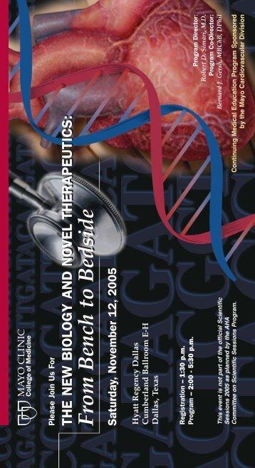 6x11 4-Color Postcard - AHA New Biology - MC4111-36 - Mayo Clinic