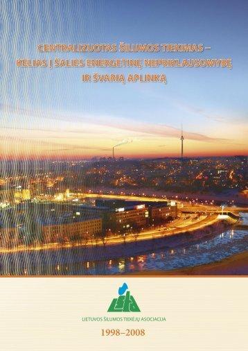 atsisiųsti leidinį (lietuvių kalba) (pdf failas) - Lietuvos šilumos tiekėjų ...
