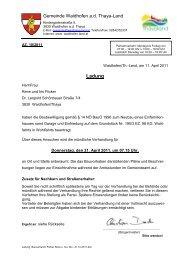 bezirkshauptmannschaft krems - Waidhofen an der Thaya-Land