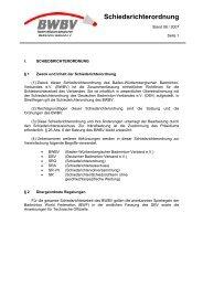 Schiedsrichterordnung - Baden - Württembergischer  Badminton ...