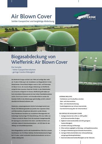 Air Blown Cover - Biogasabdeckung von Wiefferink - Biogas-Infoboard