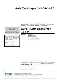 Avis Technique 14/09-1470 - Vaillant