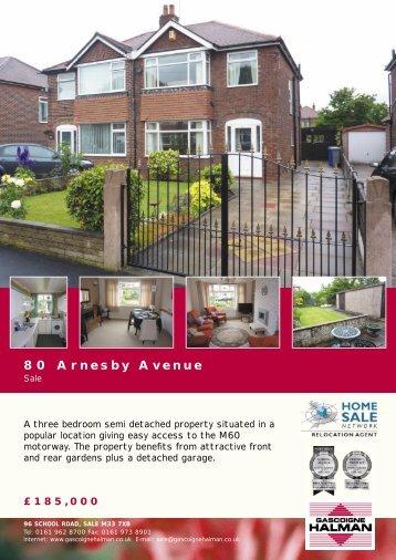 80 Arnesby Avenue