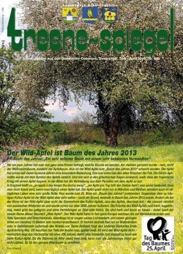 April 2013 - Treenespiegel