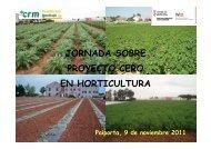 11:25 Proyecto cero en Sandía, Alcachofa Coliflor - IVIA