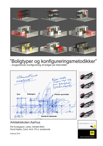 """Boligtyper og konfigureringsmetodikker"""" - Read"""