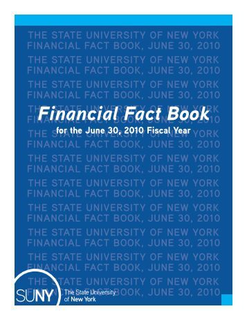 Financial Fact Book - State University of New York