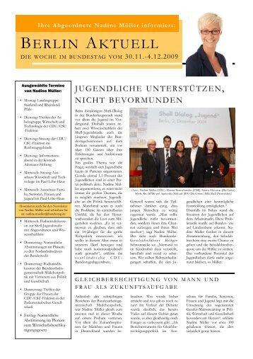 Meldungen - CDU Saar