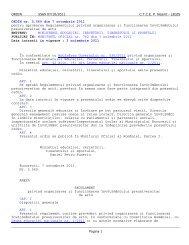 ORDIN nr. 5.569 din 7 octombrie 2011 pentru aprobarea ...