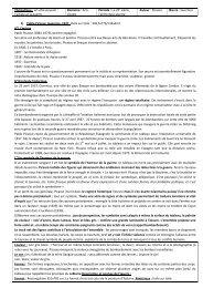 Domaine : Arts - Histoire géographie Dijon