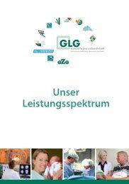 Leistungskatalog - GLG Gesellschaft für Leben und Gesundheit mbH