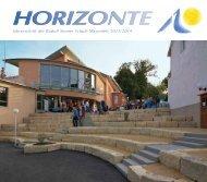 Horizonte 13 - Rudolf Steiner Schule Mayenfels
