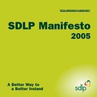 SDLP Manifesto - BBC News