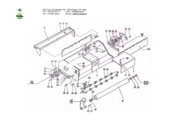 Ford Flail Mower Parts Diagram