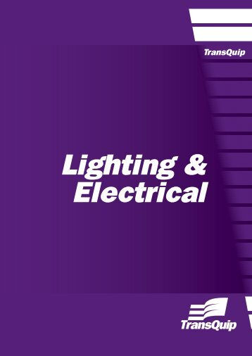 Lighting & Electrical - TransQuip