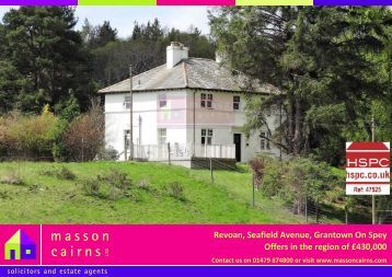 Revoan, Seafield Avenue, Grantown On Spey Offers in the ... - HSPC
