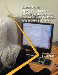 Nieman Printing grows sales, increases efficiency and ... - Kodak
