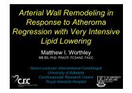 Arterial Wall Remodeling in Response to Atheroma ... - summitMD.com