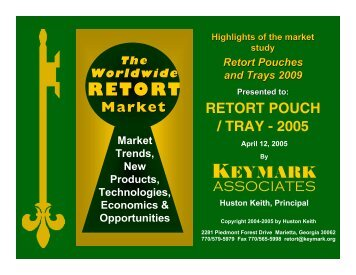Worldwide RETORT - Keymark Associates