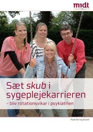 Sæt skub i sygeplejekarrieren - Region Midtjylland