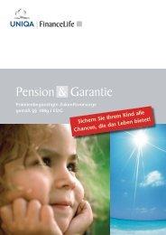 Pension & Garantie